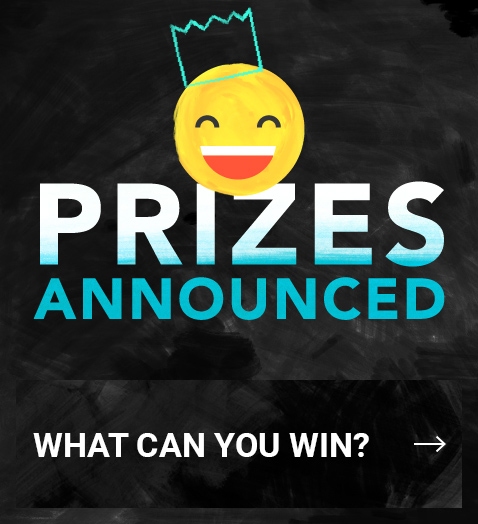 Check out the prizes you can win this year!